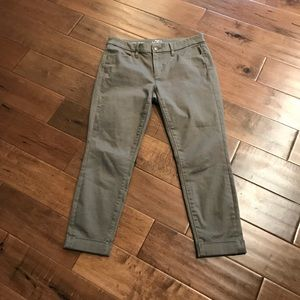 Ankle Twill denim style jean 6P from Loft
